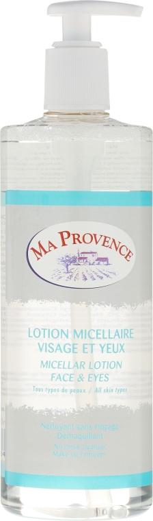 Мицеллярная вода для снятия макияжа - Ma Provence Micellare Lotion Face & Eyes