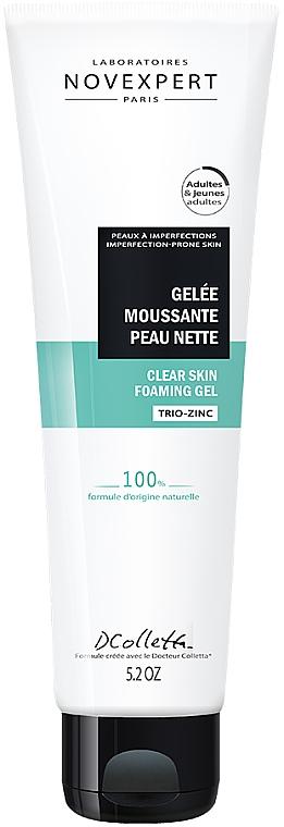 Гель для очищения кожи - Novexpert Purifying Clear Skin Foaming Gel