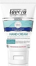 Духи, Парфюмерия, косметика Крем для рук - Lavera Neutral Nourishing Hand Cream