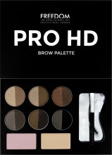 Духи, Парфюмерия, косметика Набор для бровей - Freedom Makeup London Pro HD Brow Palette