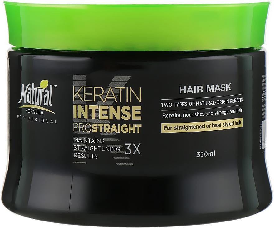 Интенсивная маска для волос на основе кератина - Natural Formula Keratin Intense Mask