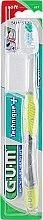 "Духи, Парфюмерия, косметика Зубная щетка ""Technique+"", мягкая, салатовая - G.U.M Soft Compact Toothbrush"