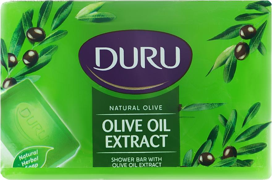 """Мыло """"Экстракт оливкового масла"""" - Duru Natural Soap"""