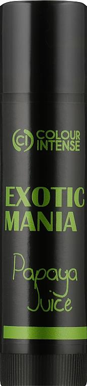 """Бальзам для губ """"Exotic Mania"""" с ароматом папайи - Colour Intense Lip Balm"""