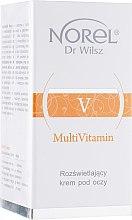 Духи, Парфюмерия, косметика Витаминный крем для сухой обезвоженной кожи век - Norel MultiVitamin Brightening Eye Cream