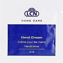 Духи, Парфюмерия, косметика Увлажняющий крем для рук с хитозаном и пантенолом - LCN Hand Cream (пробник)