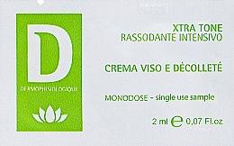Духи, Парфюмерия, косметика Укрепляющий крем для лица - Dermophisiologique Xtra-Tone Intensive Firming (пробник)