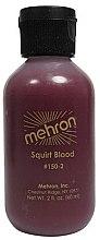 Духи, Парфюмерия, косметика Кровь для брызг - Mehron Squirt Blood Bright Arterial