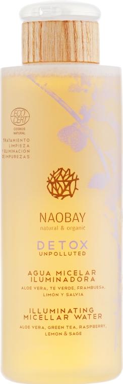 Мицеллярная вода биозащитная - Naobay Bio Detox Cosmos Micellar Water Bio Defense — фото N1