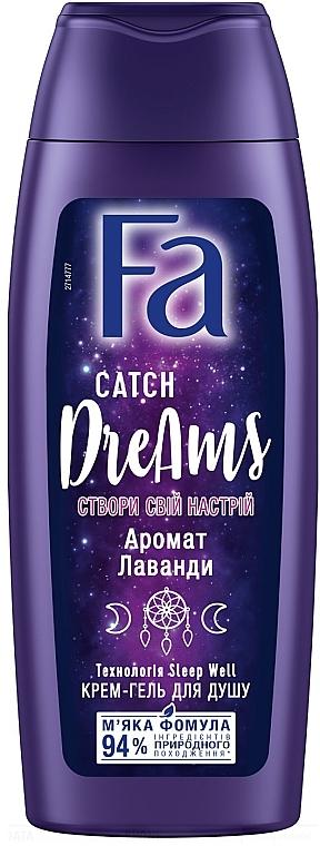 """Крем-гель для душа """"Создай свое настроение"""" с ароматом лаванды - Fa Catch Dreams"""