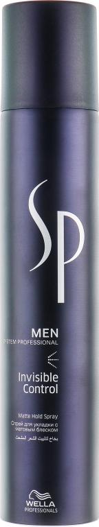Спрей для укладки - Wella SP Men Invisible Control Matte Hold Spray