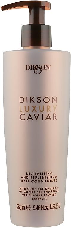 Ревитализирующий и наполняющий кондиционер - Dikson Luxury Caviar Conditioner