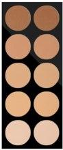 Духи, Парфюмерия, косметика Пудровая палитра для визажа - Pierre Rene Compact Powder Palette