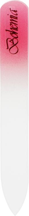 Пилочка хрустальная в чехле из кожи 99-902, 90 мм, розовая - SPL