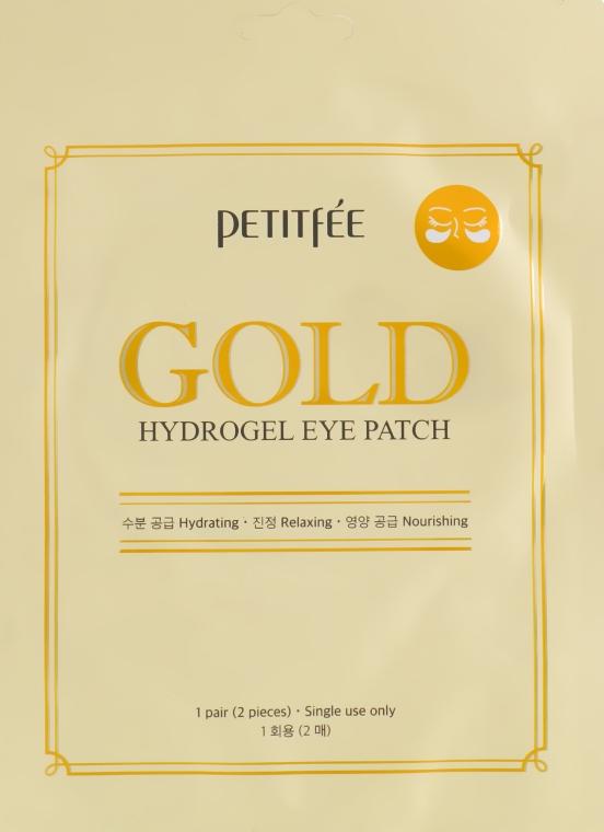 Гидрогелевые патчи для глаз с золотым комплексом +5 - Petitfee&Koelf Gold Hydrogel Eye Patch