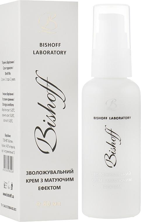 Зволожуючий крем з матуючим ефектом - Bishoff — фото N4