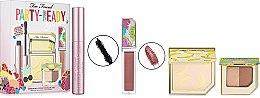 Духи, Парфюмерия, косметика Набор - Too Faced Party-Ready Essentials (powder/10.5g/lipgloss/7ml+mascara/8ml+highl/3.2g)