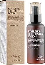 Духи, Парфюмерия, косметика Дневной лосьон с высоким содержанием муцина улитки и пчелиного яда - Benton Snail Bee High Content Lotion