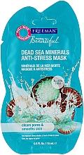 "Духи, Парфюмерия, косметика Антистрессовая маска для лица ""Минералы Мертвого моря"" - Freeman Feeling Beautiful Dead Sea Minerals Anti-Stress Mask (мини)"