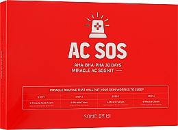 Духи, Парфюмерия, косметика Набор миниатюр для проблемной кожи - Some By Mi Aha-Bha-Pha 30 Days Miracle Ac Sos Kit (f/foam/30ml + f/toner/30ml + f/ser/10ml + f/cr/20ml)