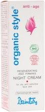 Духи, Парфюмерия, косметика Регенерирующий и укрепляющий кожу ночной крем для сухой и чувствительной кожи лица - Dzintars Organic Style Anti-Age Night Cream