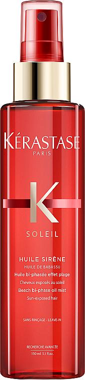 Несмываемое масло-спрей для защиты волос летом - Kerastase Soleil Beach Bi-Phase Oil Mist