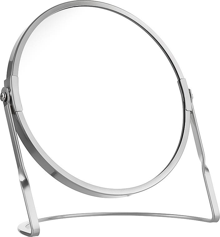 Зеркало на подставке, серебристое - Spirella Akira Silver