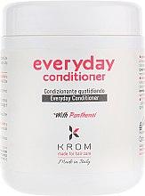 Духи, Парфюмерия, косметика Кондиционер для ежедневного ухода с пантенолом - Krom Everyday Conditioner