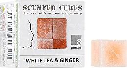 """Духи, Парфюмерия, косметика Аромакубики """"Белый Чай имбирь"""" - Scented Cubes White Tea & Ginger Candle"""