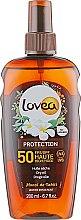Духи, Парфюмерия, косметика Сухое солнцезащитное масло - Lovea Dry Oil Spray SPF 50