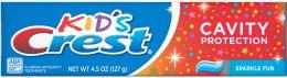 Духи, Парфюмерия, косметика Детская зубная паста - Crest Kid's Cavity Protection Sparkle Fun