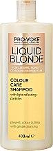 Духи, Парфюмерия, косметика Шампунь для ухода за волосами теплых оттенков блонд - Pro:Voke Liquid Blonde Colour Care Shampoo