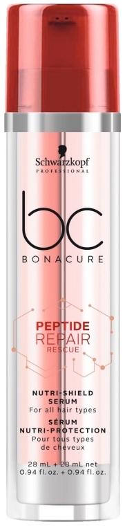 Сыворотка двойного действия - Schwarzkopf Professional BC Bonacure Peptide Repair Rescue Nutri-Shield Serum