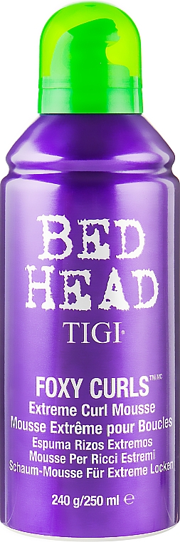 Мусс для вьющихся волос - Tigi Bed Head Foxy Curls Extreme Curl Mousse