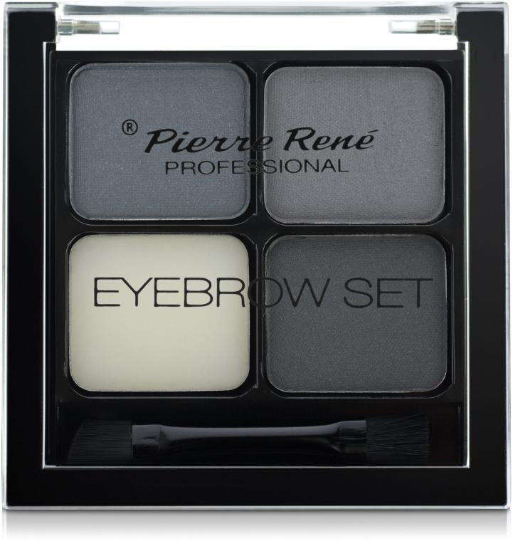 Моделирующие тени для бровей - Pierre Rene Eyebrow Set