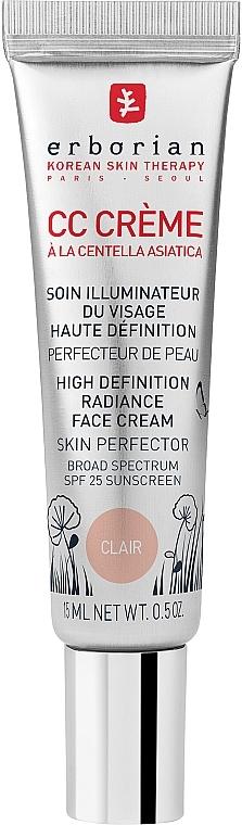 """СС-крем """"Контроль цвета"""", светлый - Erborian CC Cream Radiance Cream Skin Perfector"""