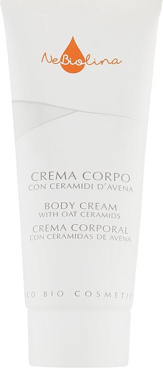 Крем для тела - NeBiolina Body Cream with Oat Ceramides