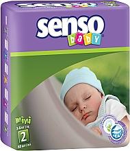 Духи, Парфюмерия, косметика Подгузники Senso Baby Mini 2 (3-6 кг), 80шт - Senso Baby