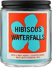 """Духи, Парфюмерия, косметика Аромасвеча """"Hibiscus Waterfalls"""" - Bath and Body Works"""