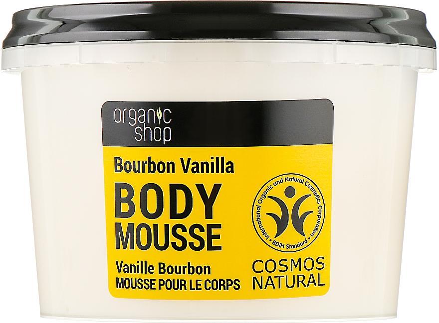 """Мусс для тела """"Бурбонская ваниль"""" - Organic Shop Body Mousse Organic Vanilla & Orchid"""
