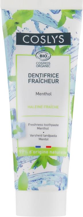 Зубная паста освежающая с ментолом - Coslys Freshness Toothpaste