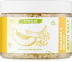 "Парфумерія, косметика Сіль для ванн морська ""Banana & Melon"" - SHAKYLAB Natural Bath Salt"