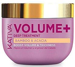 Духи, Парфюмерия, косметика Маска для объема волос - Kativa Volume+ Bamboo & Acacia Mask