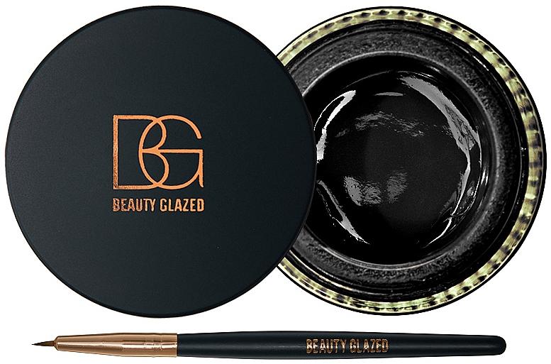 Гелевая подводка для глаз - Beauty Glazed Eyeliner Gel