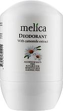 Духи, Парфюмерия, косметика Дезодорант с экстрактом ромашки - Melica With Сamomille Extract Deodorant