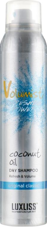 Сухой шампунь для волос - Luxliss Volumist Coconut Oil Dry Shampoo Original Classic