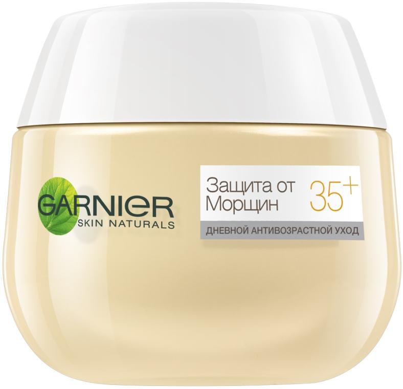 Дневной крем для лица - Garnier Skin Naturals Защита от морщин 35 +