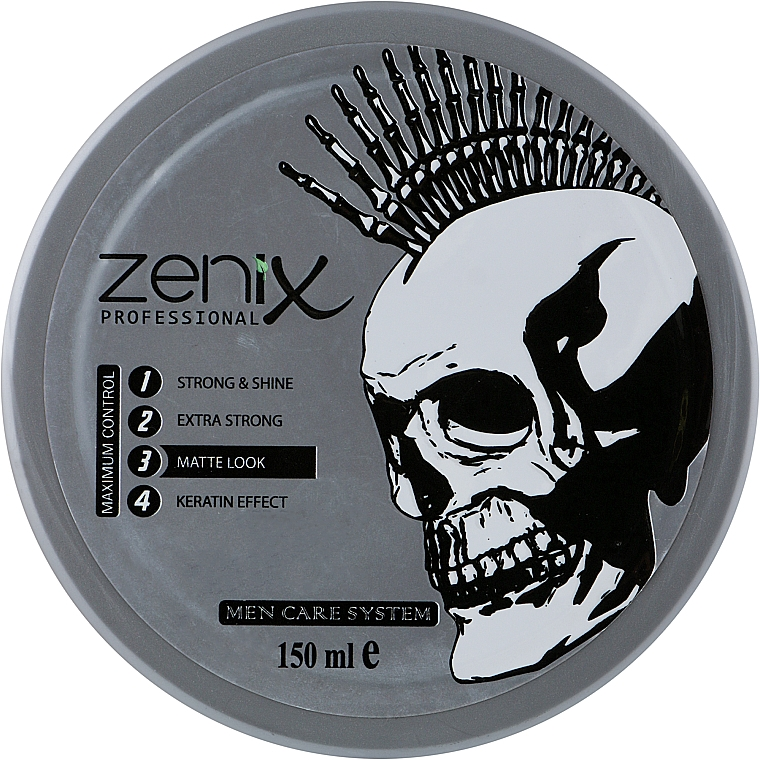"""Воск для укладки волос """"Матовый эффект"""" - Zenix Professional Wax Matte Look"""