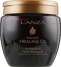 Интенсивная маска для волос - L'anza Keratin Healing Oil Intesive Hair Masque — фото N2