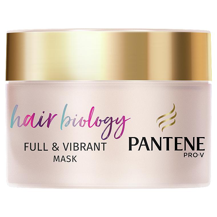 """Маска для волос """"Биология волос. Объем и сияние"""" - Pantene Pro-V Hair Biology Full & Vibrant Rejuvenating Mask"""